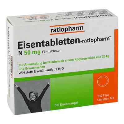Eisentabletten-ratiopharm N 50mg  bei juvalis.de bestellen