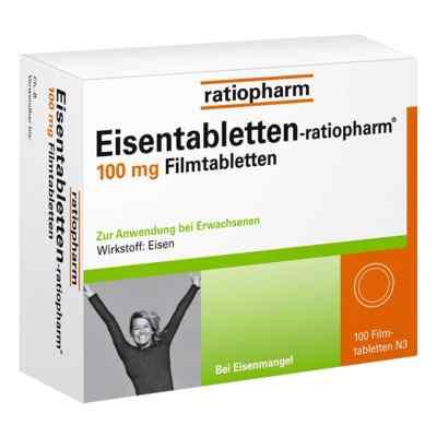 Eisentabletten-ratiopharm 100mg  bei juvalis.de bestellen