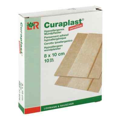 Curaplast sensitive Wundschn.verband 8x10cm  bei juvalis.de bestellen