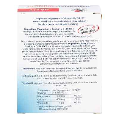 Doppelherz Magnesium + Calcium + D3 direct Pellets  bei juvalis.de bestellen
