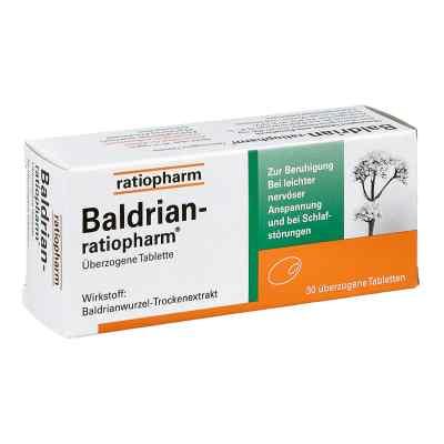 Baldrian Ratiopharm überzogene Tabletten  bei juvalis.de bestellen
