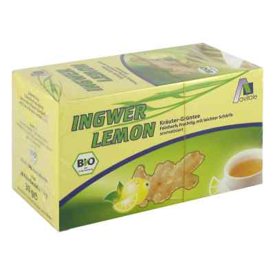 Ingwer Lemon Biotee Filterbeutel  bei juvalis.de bestellen
