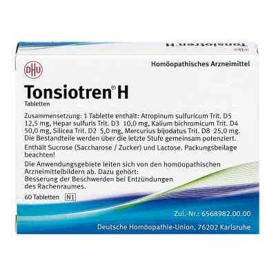 Tonsiotren H Tabletten  bei juvalis.de bestellen