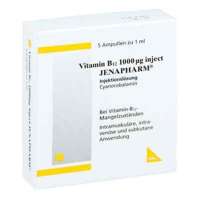 Vitamin B12 1000 [my]g Inject Jenapharm Ampullen  bei juvalis.de bestellen