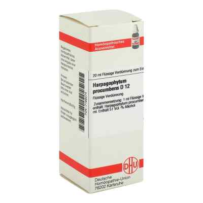Harpagophytum Proc. D12 Dilution  bei juvalis.de bestellen