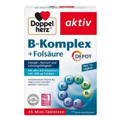 Doppelherz B-komplex + Folsäure Tabletten  bei juvalis.de bestellen
