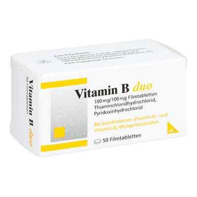 Vitamin B Duo Filmtabletten  bei juvalis.de bestellen