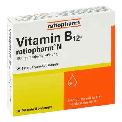 Vitamin B12 ratiopharm N Ampullen  bei juvalis.de bestellen