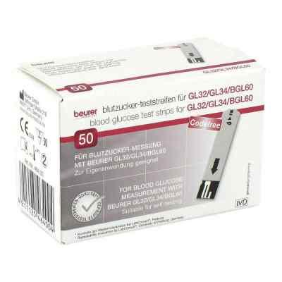Beurer Gl32/gl34/bgl60 Blutzucker-teststreifen  bei juvalis.de bestellen