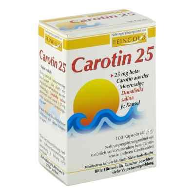 Carotin 25 Feingold Kapseln  bei juvalis.de bestellen