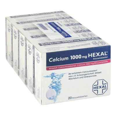 Calcium 1000mg HEXAL  bei juvalis.de bestellen
