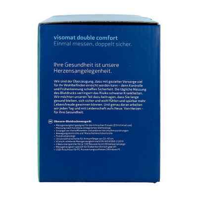 Visomat double comfort Oberarm Blutdruckmessger.  bei juvalis.de bestellen