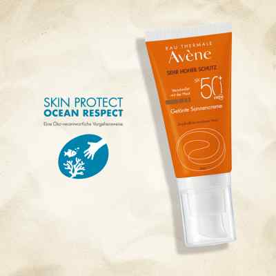 Avene Sunsitive Sonnencreme Spf 50+getönt  bei juvalis.de bestellen