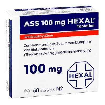 ASS 100mg HEXAL  bei juvalis.de bestellen