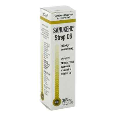 Sanukehl Strep D 6 Tropfen  bei juvalis.de bestellen