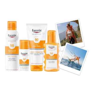 Eucerin Sun Sensitive Protect Spray Transparent LSF 50  bei juvalis.de bestellen