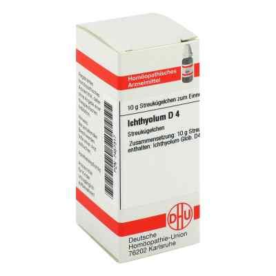 Ichthyolum D 4 Globuli  bei juvalis.de bestellen