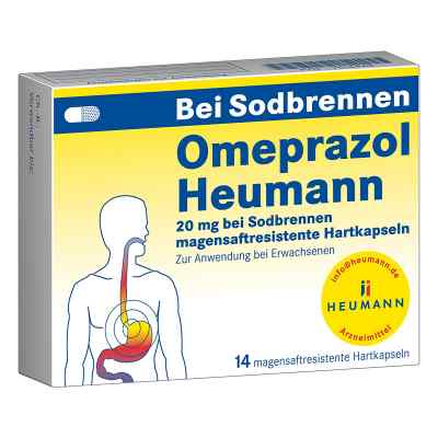 Omeprazol Heumann 20mg bei Sodbrennen  bei juvalis.de bestellen
