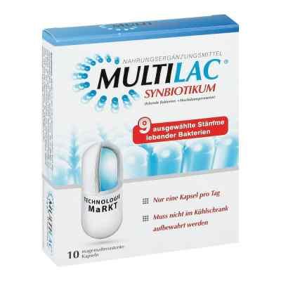 Multilac Synbiotikum Kapseln  bei juvalis.de bestellen
