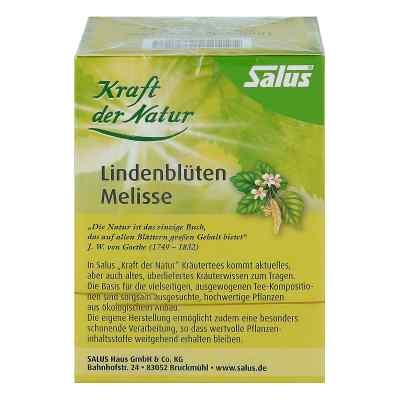 Lindenblüten Melisse Tee Kraft d.Nat.Btl.Salus  bei juvalis.de bestellen
