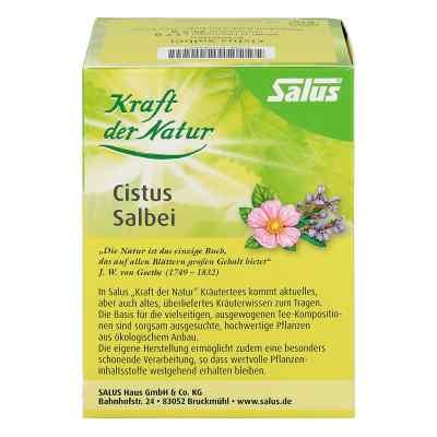 Cistus Salbei Kräutertee Kraft d.Nat.Btl.Salus  bei juvalis.de bestellen