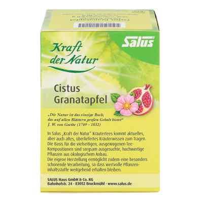 Cistus Granatapfel Tee Kraft der Natur Beutel salus  bei juvalis.de bestellen