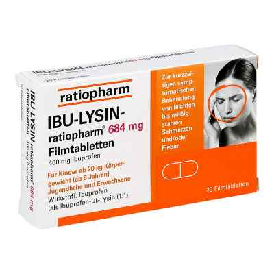 IBU-LYSIN-ratiopharm 684mg  bei juvalis.de bestellen