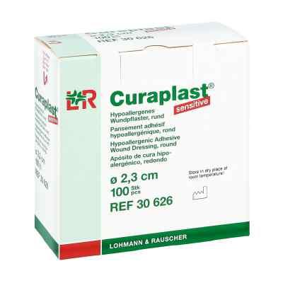 Curaplast Strips Sensitiv rund 2,3cm  bei juvalis.de bestellen