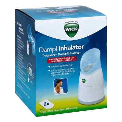 Wick Dampf Inhalator manuell  bei juvalis.de bestellen
