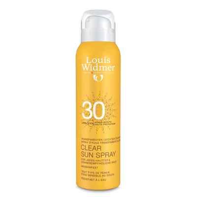 Widmer Clear Sun Spray 30 leicht parfümiert  bei juvalis.de bestellen
