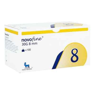Novofine 8 Kanülen 0,30x8 mm 30 G thinwall  bei juvalis.de bestellen