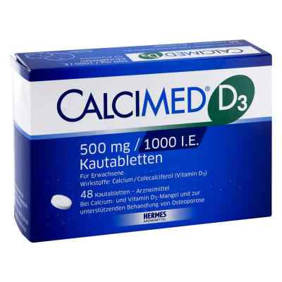 Calcimed D3 500mg/1000 internationale Einheiten  bei juvalis.de bestellen