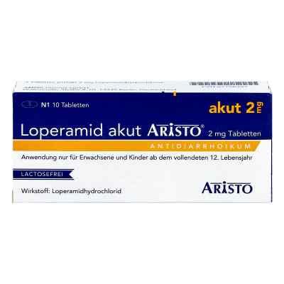 Loperamid akut Aristo 2mg  bei juvalis.de bestellen