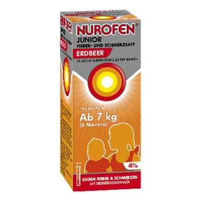 Nurofen Junior Fieber- und Schmerzsaft Erdbeer 40mg/ml  bei juvalis.de bestellen