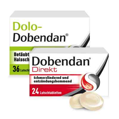 Dolo-Dobendan 36 stk + Dobendan Direkt Flurbiprofen 24 stk  bei juvalis.de bestellen