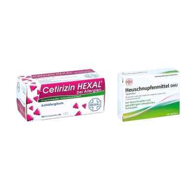 Heuschnupfenmittel DHU Tabletten - Cetirizin HEXAL  bei juvalis.de bestellen