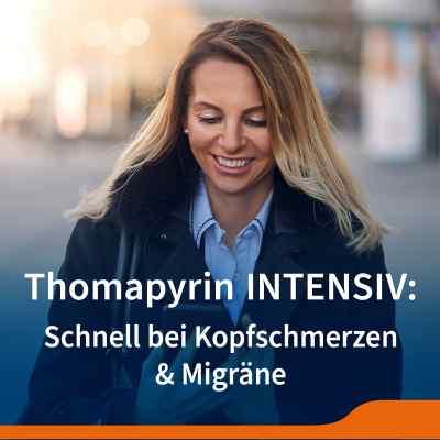 Thomapyrin INTENSIV bei Migräne & Kopfschmerzen Doppelpack  bei juvalis.de bestellen