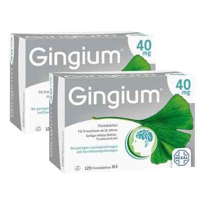 Gingium 40mg  bei juvalis.de bestellen