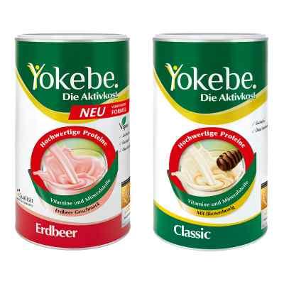 Yokebe Classic & Erdbeer Starterpaket  bei juvalis.de bestellen