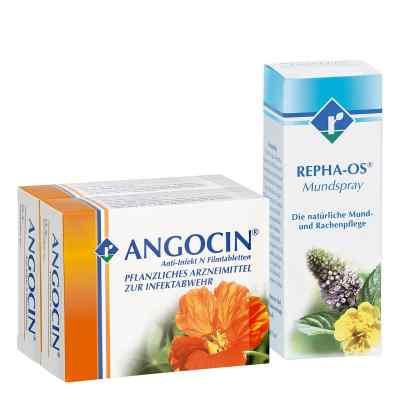 Repha Os Mundspray Angocin Anti-Infekt N - Set  bei juvalis.de bestellen