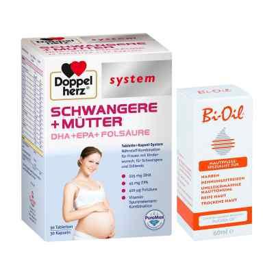 Doppelherz Schwangere  Mütter mit Bi Oil  bei juvalis.de bestellen