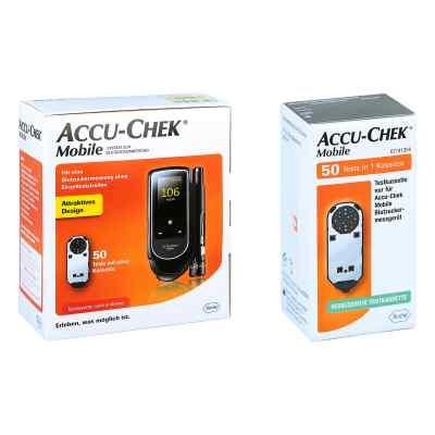 Accu Chek Mobile Set mg/dl Iii + Accu Chek Mobile Testkassette  bei juvalis.de bestellen