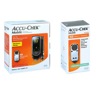 Accu Chek Mobile Set mmol/l Iii + Accu Chek Mobile Testkassette  bei juvalis.de bestellen