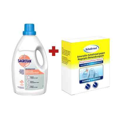 Amorolfin Scholl gegen Nagelpilz Behandlungsset + Sagrotan Wäsch  bei juvalis.de bestellen