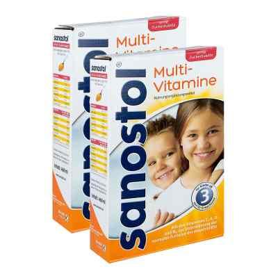 Sanostol ohne Zuckerzusatz Saft und Dosierspender  bei juvalis.de bestellen