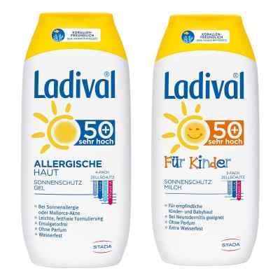 Ladival-Familien-Paket LSF 50  bei juvalis.de bestellen