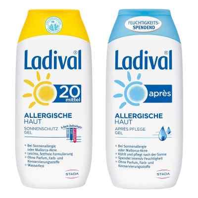 Ladival allergische Haut Gel LSF 20 und Apres Gel  bei juvalis.de bestellen