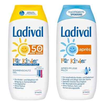 Ladival Kinder Sonnengel allergische Haut und Apres Lotion  bei juvalis.de bestellen