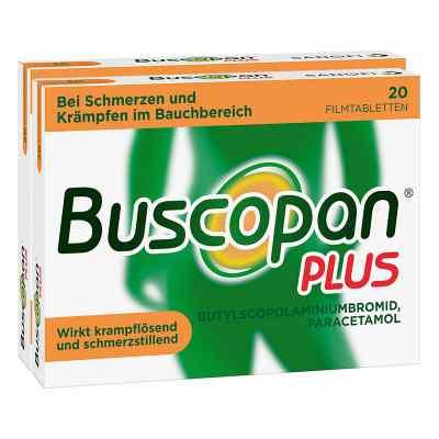 Buscopan PLUS Filmtabletten Doppelpack  bei juvalis.de bestellen
