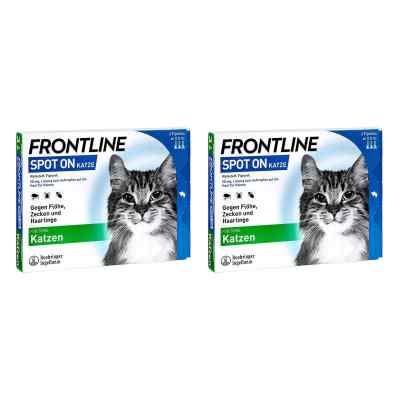 Frontline Spot on Katze veterinär Lösung gegen Floh und Zecke  bei juvalis.de bestellen